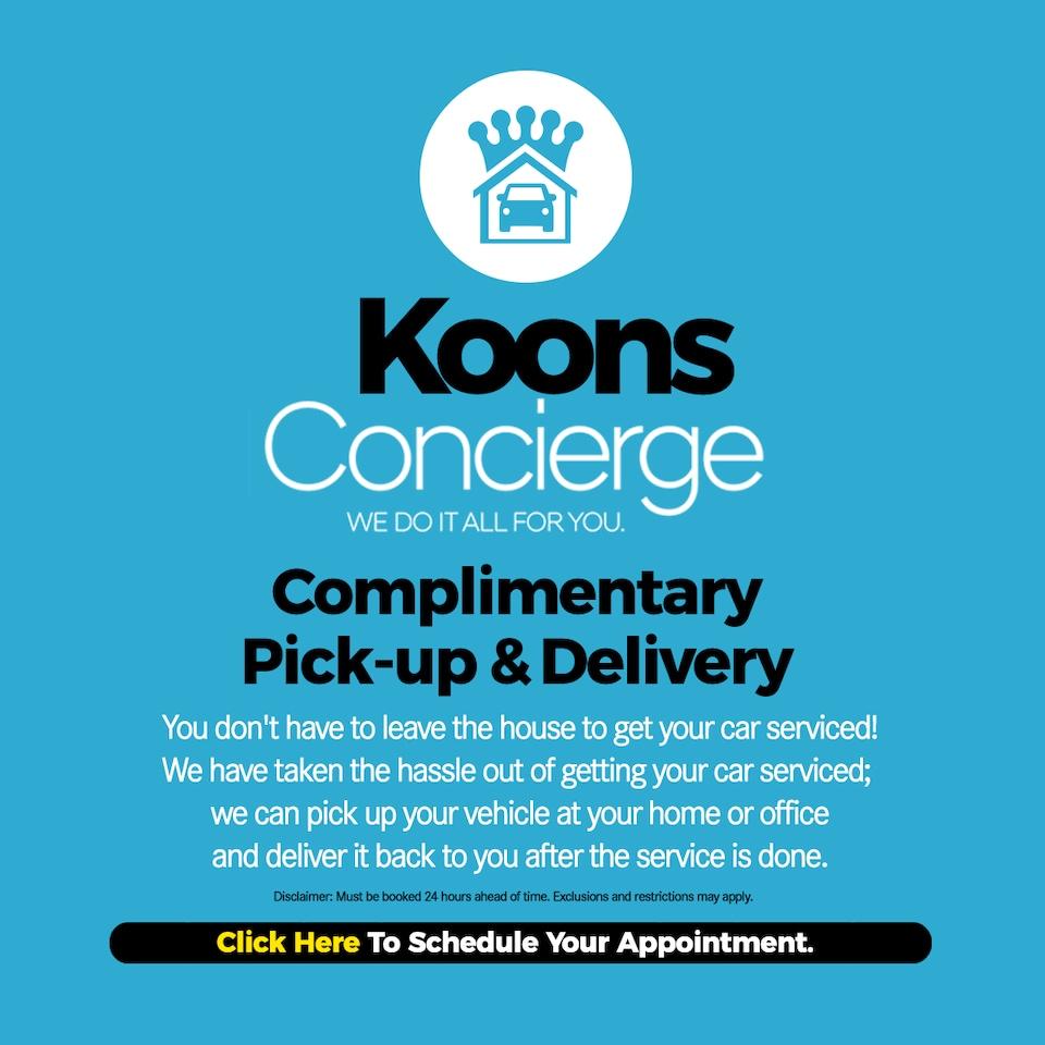 Koons Service Concierge