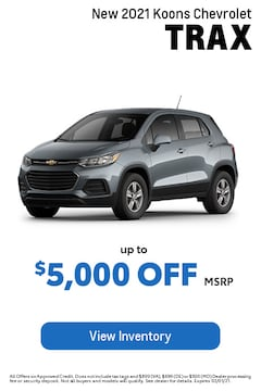 Feb - Chevy Trax
