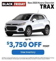 New 2020 Koons Chevrolet Trax