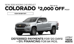 Chevy Colorado Offer - March