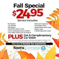 Fall Special w/Car Wash