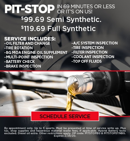 January Pit Stop Special - Ford/GMC