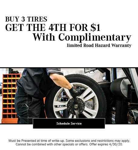 April 2020 Tires Offer - Mercedes Benz