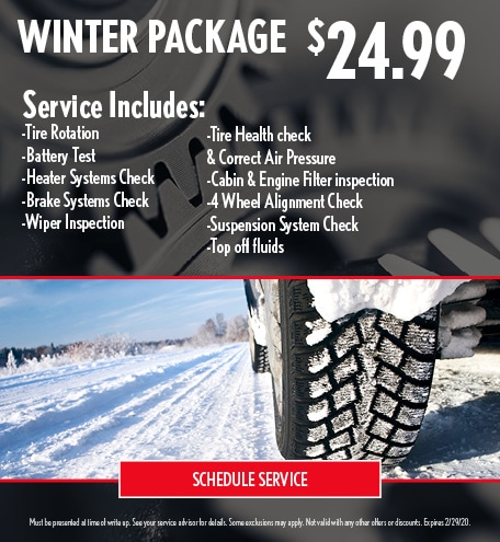 Winter Ready Package - Lexus