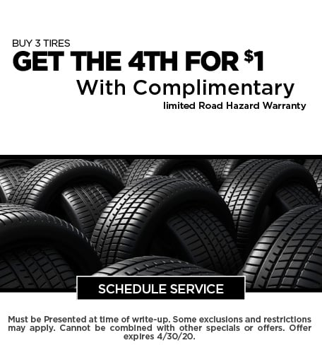 April 2020 Tires Offer - CDJR