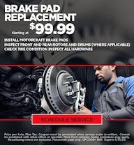 Ford Brake Special - January