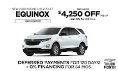 Chevy Equinox Offer - March