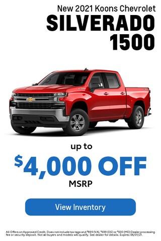 May- Chevy- Silverado 1500