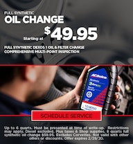 February Oil Change Special - Chevy