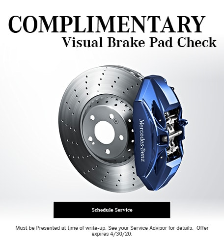 April 2020 Brakes Offer - Mercedes Benz