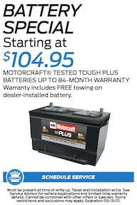 FIXED - Ford - Battery Special