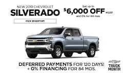 Chevy Silverado Offer - March
