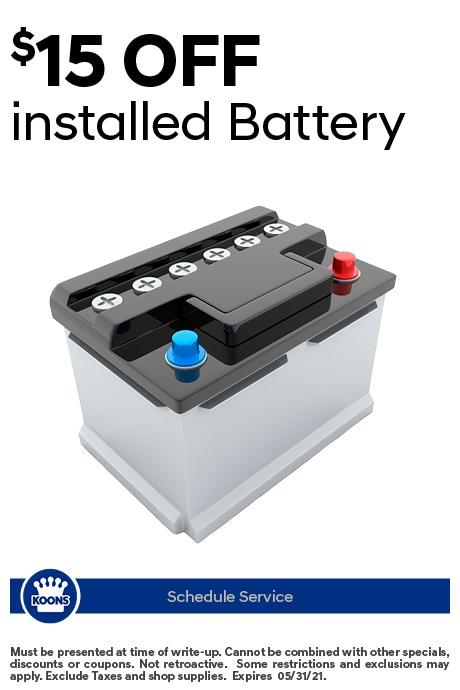 FIXED - Hyundai - Battery Service