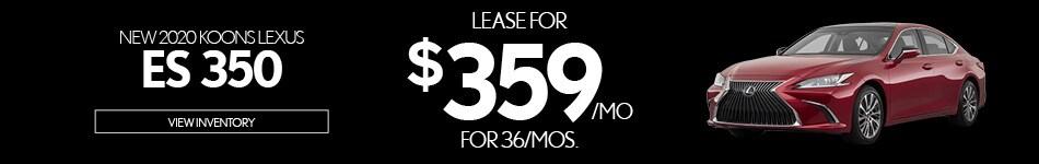 New 2020 Koons Lexus ES 350