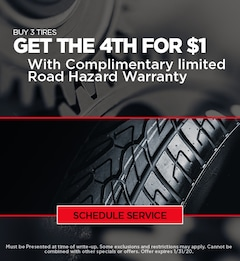 Ford Tire Special - January