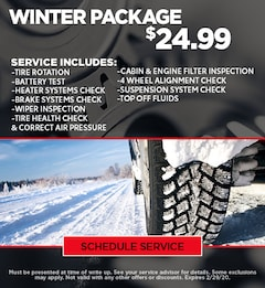 Winter Ready Package - Ford/GMC