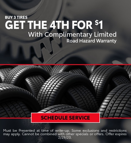 February Tire Special - Toyota