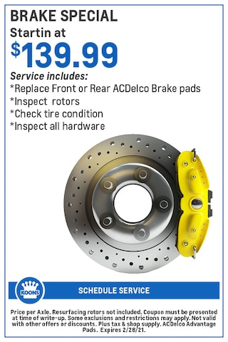 FEB - GM Brake Special
