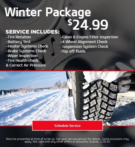 Winter Ready Package - Kia