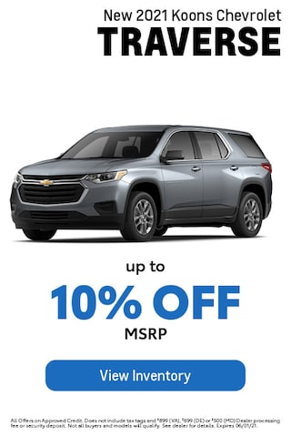 May- Chevy- Traverse