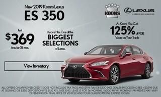 October 2019 Lexus ES Special
