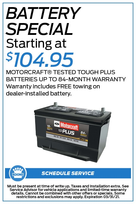 FIXED - Ford - Battery