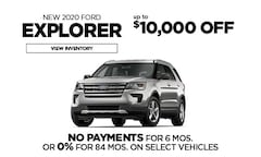 Ford 0% Financing Offer - Explorer