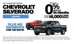 April 2020 Chevy Silverado