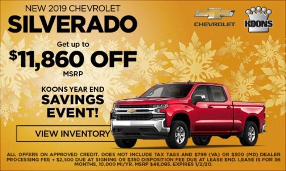 Koons White Marsh Chevrolet: Chevrolet Dealership In