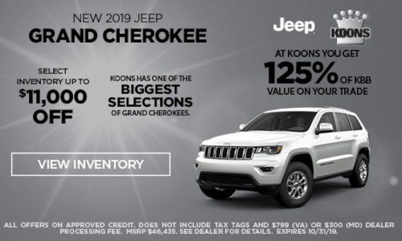Jeep Dealers In Md >> Koons Chrysler Dodge Jeep Ram Dealership In Fairfax County