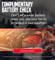 January Battery Check Special - Volvo