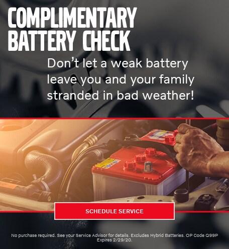 January Battery Check Special - Volvo