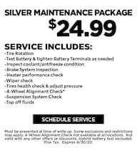 April 2020 Silver Maintenance Offer - CDJR