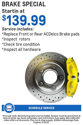 FIXED - GM - Brakes