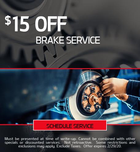 February Brake Special - Kia