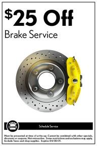 FIXED - Lexus - Brake Special