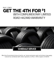 April 2020 Tire Offer - Kia