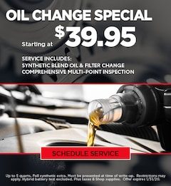 Ford Oil Change Special - January