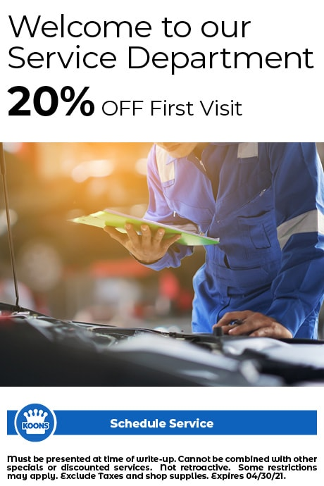 FIXED - ALL - Welcome to Service 20% off