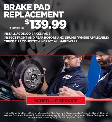 Jan - Chevy Brake Special