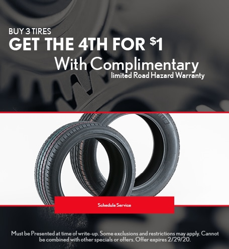 February Tire Special - Lexus