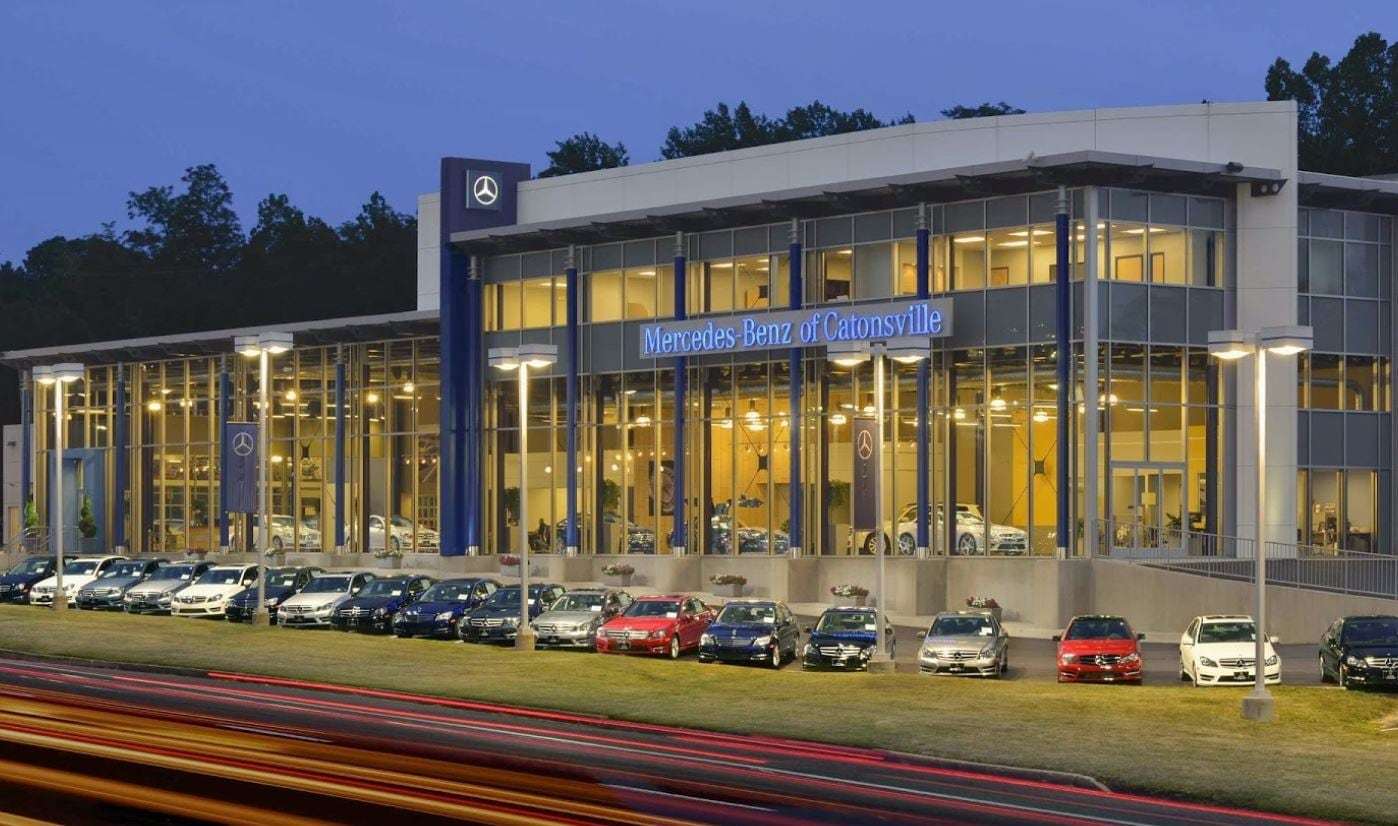 List of auto dealers in baltimore md part of jim koons for Mercedes benz service annapolis md