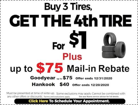 Fixed - Tire Rebate Coupon
