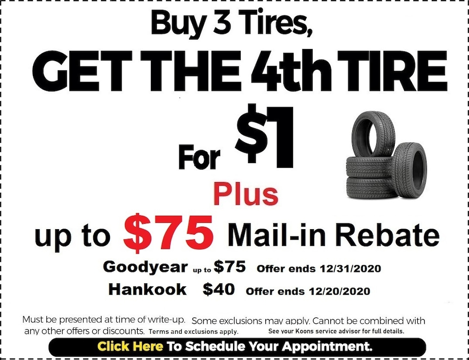 Fixed - Tire Rebate Coupon