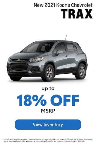 May- Chevy- Trax