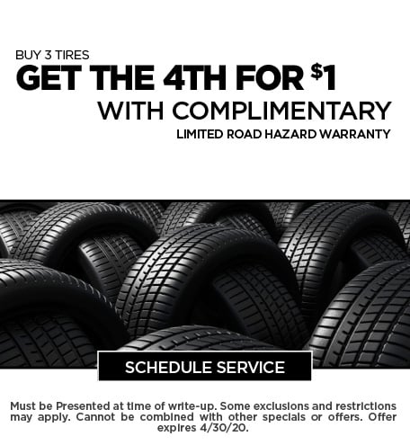April 2020 Tire Offer - Chevy