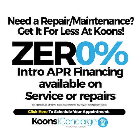 0% Financing on Service