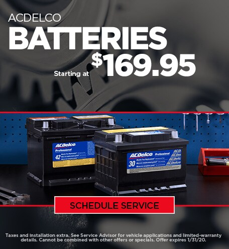 Jan - Chevy Battery Special