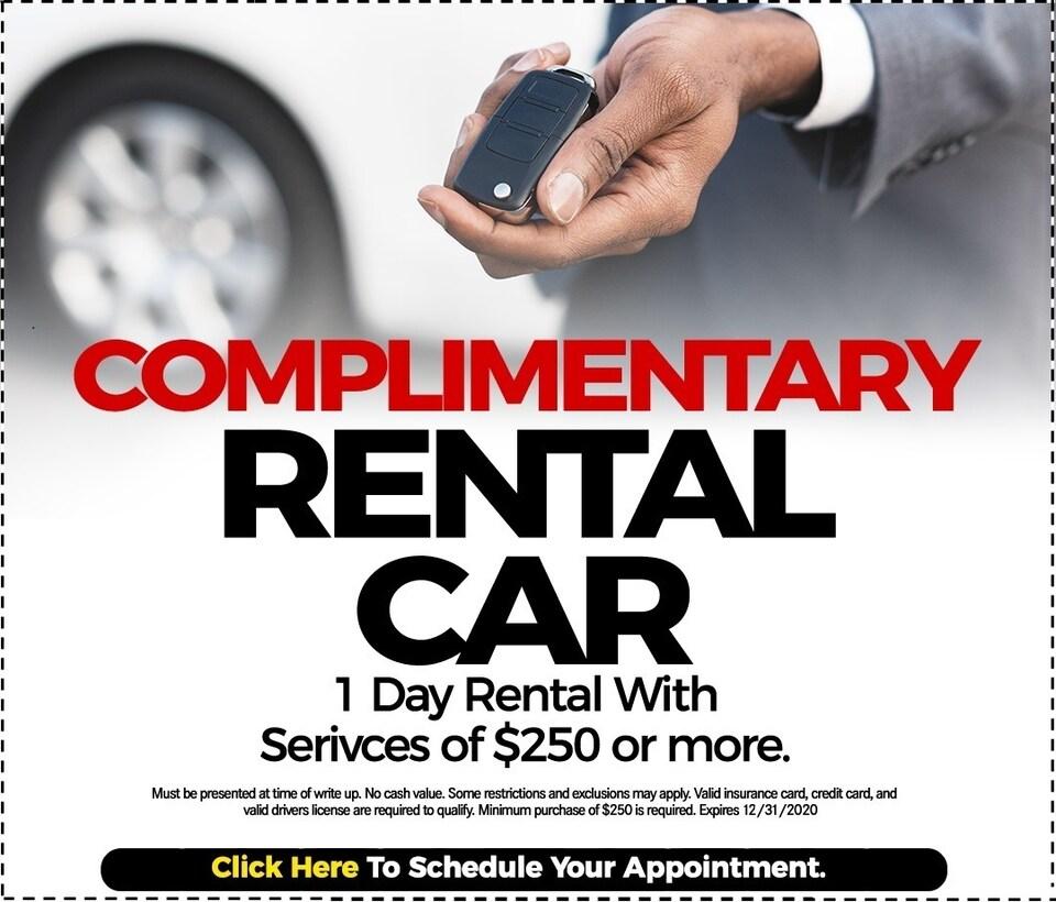 Fixed - Rental Car