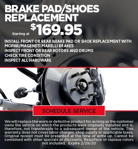 February Brake Special - CDJR